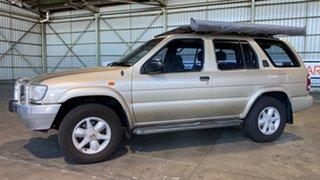 2002 Nissan Pathfinder WX II MY2002 ST Bronze 4 Speed Automatic Wagon.