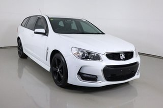 2017 Holden Commodore VF II MY17 SV6 White 6 Speed Automatic Sportswagon.