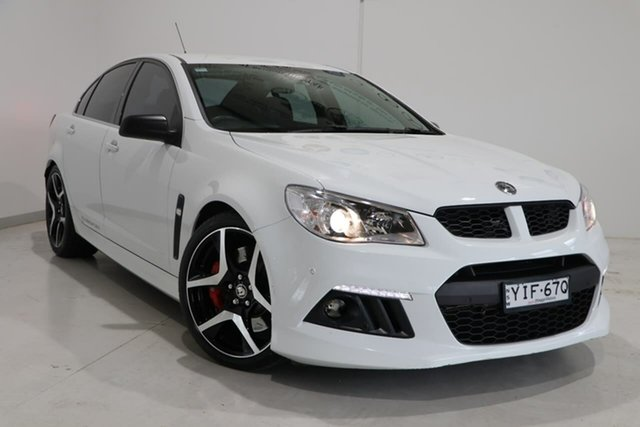 Used Holden Special Vehicles ClubSport Gen-F MY15 R8 Wagga Wagga, 2014 Holden Special Vehicles ClubSport Gen-F MY15 R8 White 6 Speed Sports Automatic Sedan