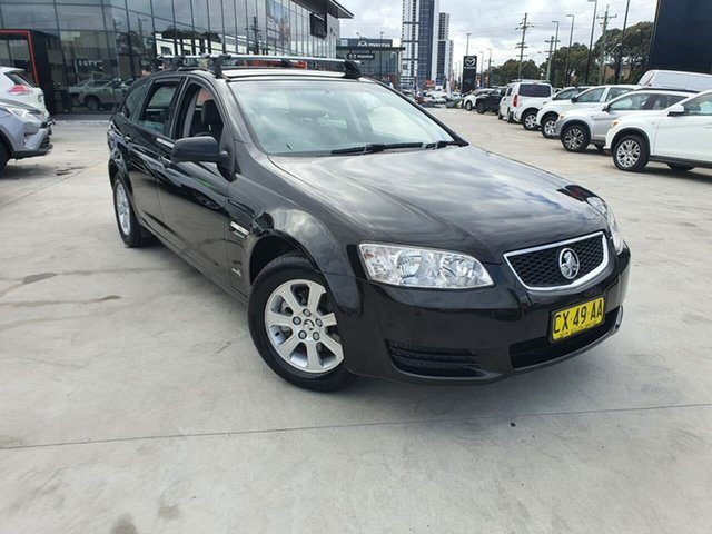 Used Holden Commodore VE II MY12 Omega Sportwagon Liverpool, 2011 Holden Commodore VE II MY12 Omega Sportwagon Black 6 Speed Sports Automatic Wagon