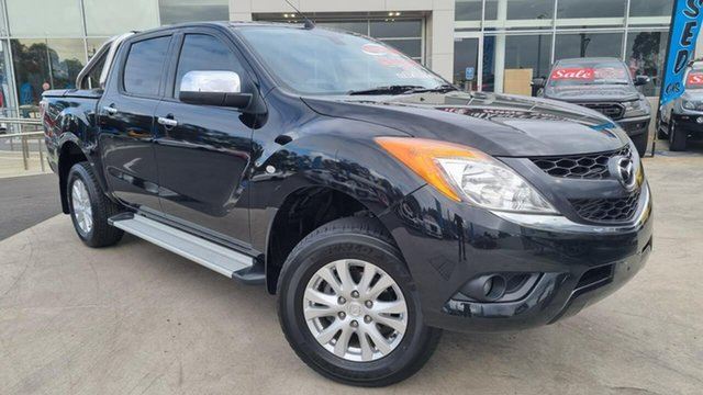 Used Mazda BT-50 UP0YF1 GT Liverpool, 2015 Mazda BT-50 UP0YF1 GT Black Mica 6 Speed Sports Automatic Utility