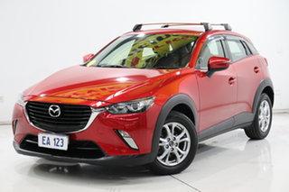 2015 Mazda CX-3 DK2W7A Maxx SKYACTIV-Drive Red 6 Speed Sports Automatic Wagon.