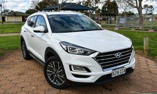 2019 Hyundai Tucson TL3 MY19 Elite AWD White 8 Speed Sports Automatic Wagon.