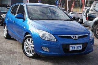 2008 Hyundai i30 FD SLX Blue 4 Speed Automatic Hatchback.