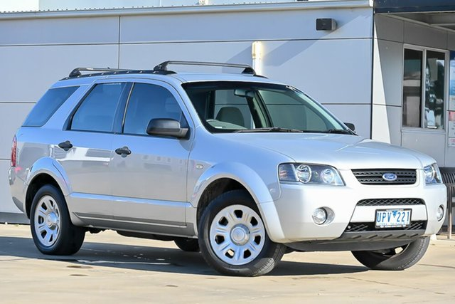 Used Ford Territory SY TX Pakenham, 2007 Ford Territory SY TX Silver 4 Speed Sports Automatic Wagon