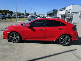 2018 Honda Civic 10th Gen MY18 RS Red 1 Speed Constant Variable Hatchback