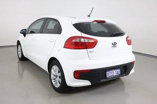 2016 Kia Rio UB MY16 S Premium White 4 Speed Automatic Hatchback