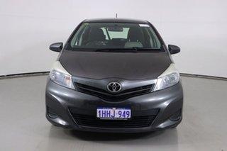 2013 Toyota Yaris NCP130R YR Grey 4 Speed Automatic Hatchback.