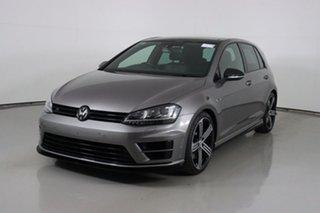 2014 Volkswagen Golf AU MY14 R Grey 6 Speed Manual Hatchback.