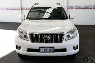 2010 Toyota Landcruiser Prado GRJ150R GXL (4x4) Glacier White 5 Speed Sequential Auto Wagon.