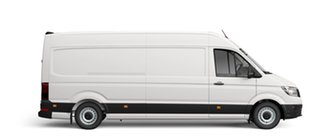 2021 Volkswagen Crafter SY1 35 Van LWB Candy White 8 Speed Automatic Van