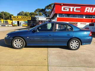2003 Holden Commodore VY Equipe Blue 4 Speed Automatic Sedan.