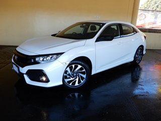 2019 Honda Civic 50 Years Edition White Continuous Variable Hatchback