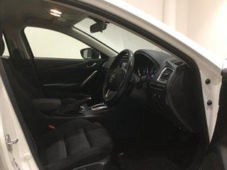 2014 Mazda 6 GJ1031 MY14 Sport SKYACTIV-Drive Snowflake White 6 Speed Sports Automatic Wagon