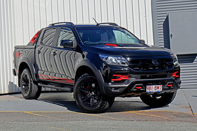 Used Holden Special Vehicles Colorado RG MY18 SportsCat Pickup Crew Cab Springwood, 2018 Holden Special Vehicles Colorado RG MY18 SportsCat Pickup Crew Cab Black 6 Speed