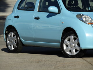 2008 Nissan Micra K12 Abyss Blue 4 Speed Automatic Hatchback.