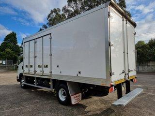 2015 Isuzu FRR 500 White Refrigerated Truck