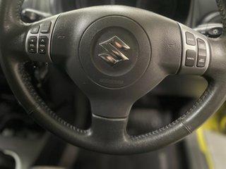 2013 Suzuki SX4 GYA MY13 Crossover Green 6 Speed Manual Hatchback