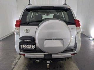 2010 Toyota Landcruiser Prado KDJ150R GXL Silver 6 Speed Manual Wagon