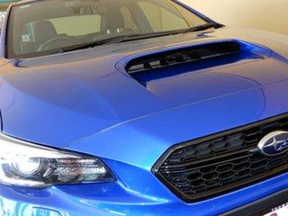 2017 Subaru WRX MY17 (AWD) Blue Continuous Variable Sedan.