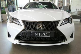 2019 Lexus RC GSC10R RC350 F Sport White 8 Speed Sports Automatic Coupe
