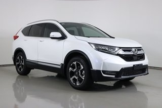 2019 Honda CR-V MY19 VTi-LX (AWD) White Continuous Variable Wagon.