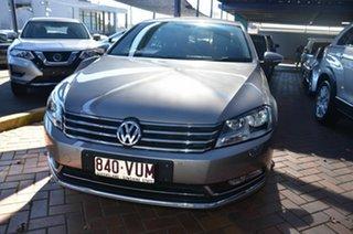 2014 Volkswagen Passat 3C MY15 130 TDI Highline Beige 6 Speed Direct Shift Sedan.