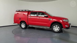 2016 Ford Ranger PX MkII XLT 3.2 Hi-Rider (4x2) Red 6 Speed Automatic Crew Cab Pickup