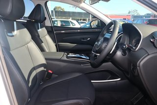 2021 Hyundai Tucson NX4.V1 MY22 Elite D-CT AWD White Cream 7 Speed Sports Automatic Dual Clutch