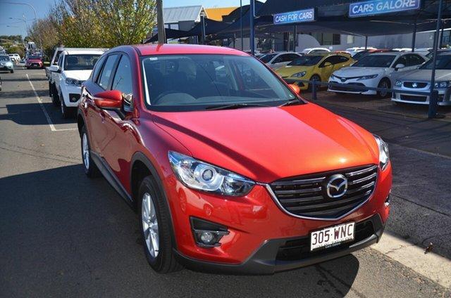 Used Mazda CX-5 MY15 Maxx (4x2) Toowoomba, 2016 Mazda CX-5 MY15 Maxx (4x2) Red 6 Speed Automatic Wagon