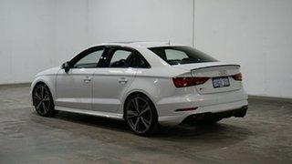 2017 Audi RS 3 8V MY18 S Tronic Quattro White 7 Speed Sports Automatic Dual Clutch Sedan.