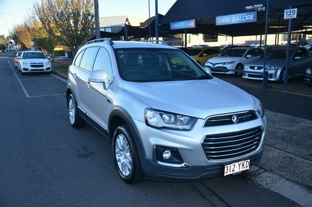 Used Holden Captiva CG MY18 Active 7 Seater Toowoomba, 2018 Holden Captiva CG MY18 Active 7 Seater Silver 6 Speed Automatic Wagon