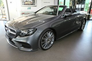 2017 Mercedes-Benz E-Class A238 E400 9G-Tronic PLUS 4MATIC Grey 9 Speed Sports Automatic Cabriolet