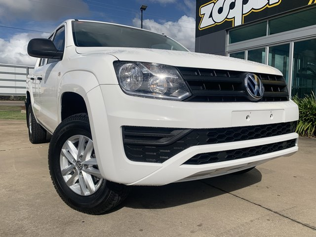 Used Volkswagen Amarok 2H MY18 TDI420 4MOTION Perm Core Townsville, 2017 Volkswagen Amarok 2H MY18 TDI420 4MOTION Perm Core White 8 Speed Automatic Utility