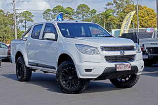 2015 Holden Colorado RG MY15 LS Crew Cab 4x2 White 6 Speed Sports Automatic Utility.