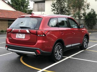 2017 Mitsubishi Outlander ZL MY18.5 ES AWD Red 6 Speed Constant Variable Wagon.