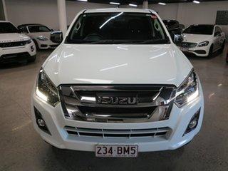 2018 Isuzu D-MAX MY17 LS-U Crew Cab White 6 Speed Sports Automatic Utility.