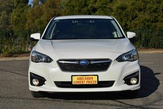 2018 Subaru Impreza G5 MY18 2.0i CVT AWD White 7 Speed Constant Variable Hatchback.