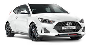 2020 Hyundai Veloster JS MY20 Turbo Coupe D-CT Chalk White 7 Speed Sports Automatic Dual Clutch