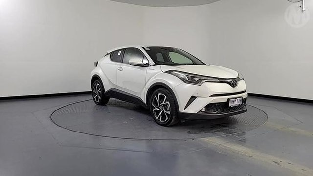 Used Toyota C-HR NGX10R Update Koba (2WD) Altona North, 2018 Toyota C-HR NGX10R Update Koba (2WD) White Continuous Variable Wagon