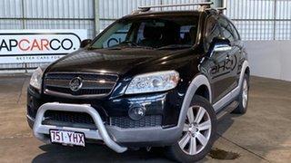 2010 Holden Captiva CG MY10 CX AWD Black 5 Speed Sports Automatic Wagon.