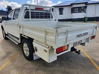 2016 Holden Colorado RG MY16 LS-X Crew Cab White 6 Speed Manual Utility