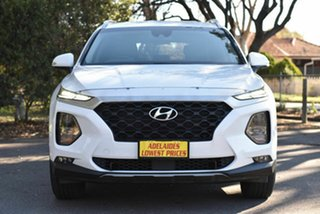 2019 Hyundai Santa Fe TM MY19 Active White 6 Speed Sports Automatic Wagon.