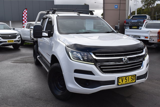 Used Holden Colorado RG MY16 LS Crew Cab Tuggerah, 2016 Holden Colorado RG MY16 LS Crew Cab White 6 Speed Sports Automatic Utility