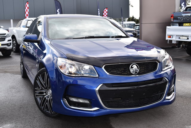 Used Holden Commodore VF II MY16 SV6 Tuggerah, 2015 Holden Commodore VF II MY16 SV6 Blue 6 Speed Sports Automatic Sedan