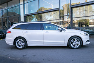 2016 Ford Mondeo MD Ambiente White 6 Speed Sports Automatic Wagon