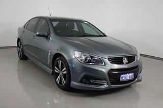 2015 Holden Commodore VF MY15 SV6 Storm Grey 6 Speed Automatic Sedan.