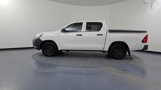 2018 Toyota Hilux TGN121R MY17 Workmate White 6 Speed Automatic Dual Cab Utility