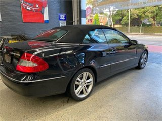 2006 Mercedes-Benz CLK-Class A209 CLK200 Kompressor Elegance Obsidian Black Automatic Cabriolet