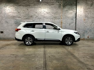 2019 Mitsubishi Outlander ZL MY19 Exceed AWD White 6 Speed Constant Variable Wagon